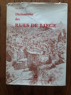 Dictionnaire Des Rues De Liège - België