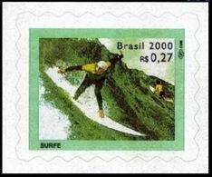 BRAZIL #2761 -  SURF  -  RADICAL SPORTS  - SURFING  -  SINGLE - S/A MINT - Brazil