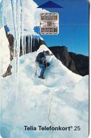 SWEDEN - Climber In Antartic, Chip SC7, Red CN : C3A042824, 10/93, Used - Sweden