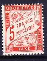 FRANCE TAXE 1941 YT N° 66 ** - 1859-1955 Mint/hinged