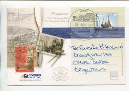 ARGENTINA - 75° ANIVERSARIO VELERO OCEANOGRAFICO DR. BERNARDO HOUSSAY. ENTERO ENTIER CIRCULE 2009 FDC - LILHU - Postal Stationery