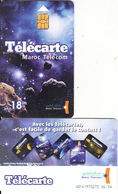 MOROCCO - Space, Maroc Telecom 18 Dh, Chip Siemens 35, 06/04, Used - Espacio