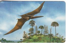 LIBERIA - Prehistoric Bird, Liberia Phone 10 Units, Tirage 50000, Used - Other