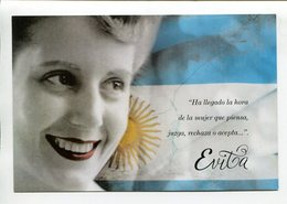 ARGENTINA - EVITA PERON, EVA DUARTE, PERONISMO. ENTERO ENTIER CIRCULE 2012 FDC - LILHU - Mujeres Famosas