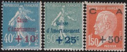 France  .   Yvert    .    246/248      .     *      .   Neuf Avec Charniere     .   /   .   Mint-hinged - Unused Stamps