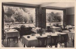 Falaen La Truite D'Or Hotel Antique Real Photo Advertising Belgium Postcard - Advertising
