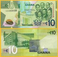 Ghana 10 Cedis P-new 2019 UNC Banknote - Ghana