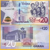 Ghana 20 Cedis P-new 2019 UNC Banknote - Ghana