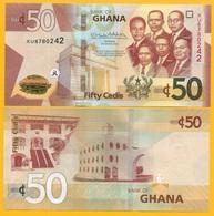 Ghana 50 Cedis P-new 2019 UNC Banknote - Ghana