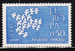 France 1961 MH Sc 1006 50c EUROPA - France