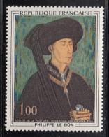 France 1969 MH Sc 1237 1fr Philip The Good By Roger Van Der Weyden - France