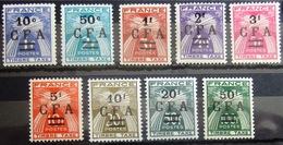 REUNION                 TAXE 36/44                 NEUF** - Reunion Island (1852-1975)