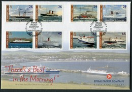 2005 Isle Of Man, F.D.C. / I.O.M. Steam Packet Company, Ships First Day Cover - Isle Of Man