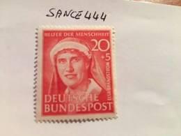 Germany Welfare E. Brandstrom Nurse 1951 Mnh - Unused Stamps