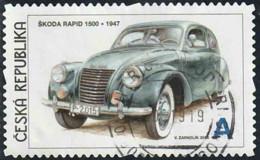 Tchéquie 2015 Yv. N°777 - Skoda Rapid 1500 - Oblitéré - Oblitérés