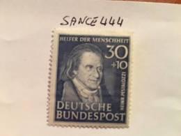 Germany Welfare H. Pestalozzi Pedagogue 1951 Mnh - Unused Stamps