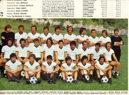 POSTER CESENA + HELLAS VERONA . CALCIO SERIE A 1976/77.MISURE 33X25 CM. - Calcio