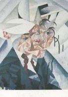 Gino Severini 1912 Frangmented Self Portrait Painting Postcard - Photographs