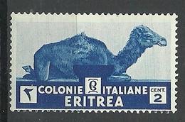 ERITREA ITALY Colony 1933 Michel 204 Camel Kamel MNH - Eritrea