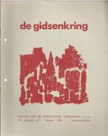 1979/1 DE WESTVLAAMSE GIDSENKRING POPERINGE ST SIXTUS WESTVLETEREN WESTROZEBEKE THUYNE BRIELEN ZIE INHOUD - Geschichte