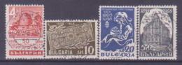 40-009/ BG - 1946  50 YEARS  POST  BANK  Mi 524/27 O - 1945-59 République Populaire