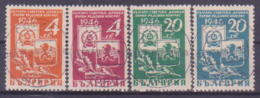 50-011 / BG - 1946 -  SOVIET - BULGARIAN  FRIENDSHIP  Mi 529/32 O - 1945-59 République Populaire
