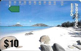 CARTE-MAGNETIQUE-AUSTRALIE-10$-1993-PAYSAGE-PLAGE-TBE- - Australie
