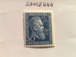 Germany Wilhelm Röngten's Nobel Prize 1951 Mnh - Unused Stamps