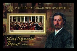 Russia 2019 Mih. 2694 (Bl.276) Painting Of Ilya Repin MNH ** - 1992-.... Federatie