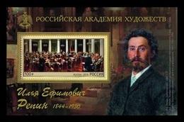 Russia 2019 Mih. 2694 (Bl.276) Painting Of Ilya Repin MNH ** - 1992-.... Fédération