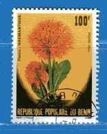 (Us3) ) BENIN ° 1986 - Flore FLEURS . - Yvert. 642. Oblitéré - Benin – Dahomey (1960-...)