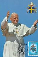 15.5.1985  -  Luxembourg - Visite Du Pape Jean-Paul II - Maximum Cards