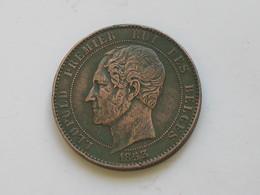 Médaille Belgique - Léoplod Premier Roi Des Belges 1853 - L.L.PH.M.V Duc DeBrabant -  **** EN ACHAT IMMEDIAT **** - Royaux / De Noblesse