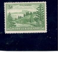 NORFOLK ISLAND1947: Michel 7y Mnh** - Norfolk Island