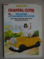 Ancien Livre Disque Vinyle 45 T Chante Avec Chantal Goya Vol. 3 4 Titres 1980 - 45 Rpm - Maxi-Singles