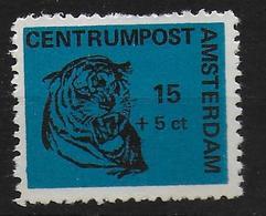 Nederland Stadspost Private Local Mail In Amsterdam 1970 Tiger - Roofkatten