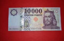 HUNGARY  10000 Forint  2015 - 10.000 - P. 206b - UNC - NEUF - Ungheria