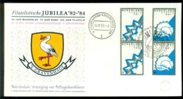 Nederland 1982 Speciale Envelop Jubilea '82-'84 4r NVPH Show Congresgebouw Den Haag - 1980-... (Beatrix)