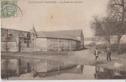 ULLY - SAINT - GEORGES - ( Ylly Inscrit Sur La Carte ) - La Mare De Cavillon. Personnages à Droite. - France