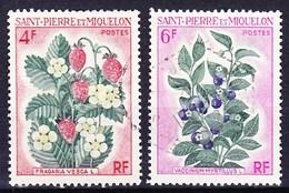 SAINT PIERRE ET MIQUELON 1970 YT N° 402 Et 404 Obl. - St.Pierre Et Miquelon