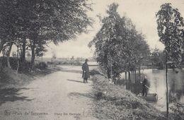 Parc De Tervueren Elderly Man Elang Ste Gertrade Belgium Old Postcard - Belgium