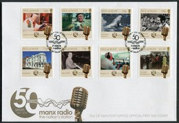 2014 Isle Of Man, F.D.C. / I.O.M. First Day Cover. Manx Radio - Isle Of Man
