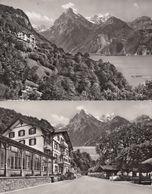 Hotel Tellsplatte AM Vierwaldstattersee 2x Real Photo Postcard S - Unclassified