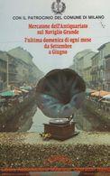 Milan Italy Italian Antique Grammophone Record Player Wet Advertising Postcard - Italy