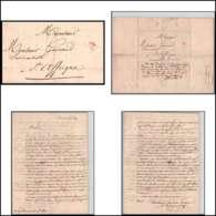 Lettre Cover France 0658 Paris Marque Postale TTB N°1008 Grande Poste 1827 Pour Saint-Affrique Aveyron - 1801-1848: Precursori XIX
