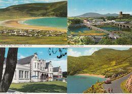 Keem Strand Keel Bay Achill Island Hotel County Mayo 4x Ireland Postcard S - Ireland