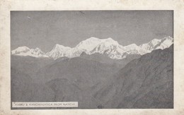 Postcard Kabru & Kanchenjanga From Namchi India / Nepal Border Himalaya Himalayas Mountain Interest My Ref  B13420 - India