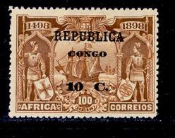 ! ! Congo - 1913 Vasco Gama On Africa 10 C - Af. 81 - MH - Congo Portugais