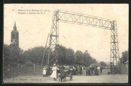 CPA Noeux-les-Mines, Passage A Niveau Du No. 1 - Noeux Les Mines