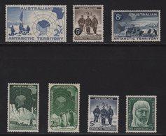 Australie - Territoire Antarctique - N°1 à N°7 - Cote 39.25€ - * - Neufs Avec Charniere - Territoire Antarctique Australien (AAT)